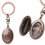 Fantastic Beasts Pewter Picture Holder Key Chain.