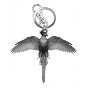 Harry Potter Pewter Fawkes Key Chain