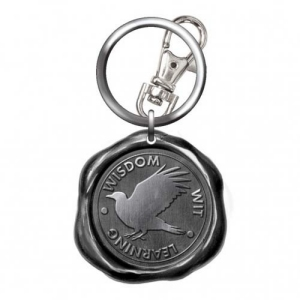 Harry Potter Pewter Ravenclaw Seal Stamp Key Chain