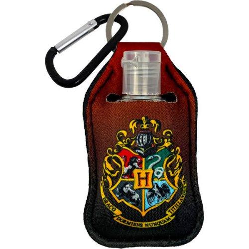 Harry Potter Hogwarts Crest Sanitizer Cover Key Chain.