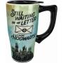 Harry Potter Letter To Hogwarts Travel Mug with Handle.