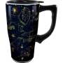 Harry Potter Constellations Travel Mug with Handle.