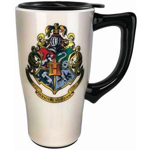 Harry Potter Hogwarts Crest Travel Mug with Handle