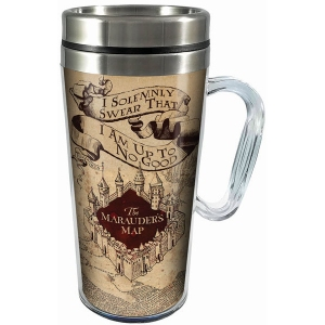 Harry Potter Solemnly Swear Acrylic Travel Mug with Handle