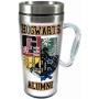 Harry Potter Hogwarts Alumni Acrylic Travel Mug with Handle.