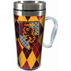 Harry Potter Gryffindor Acrylic Travel Mug with Handle