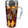 Harry Potter Gryffindor Acrylic Travel Mug with Handle.