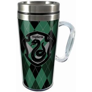 Harry Potter Slytherin Acrylic Travel Mug with Handle