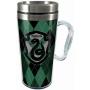 Harry Potter Slytherin Acrylic Travel Mug with Handle.