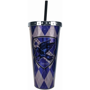 Harry Potter Ravenclaw Foil Cup with Straw