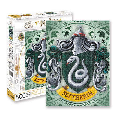 Harry Potter Slytherin 500 Piece Puzzle.