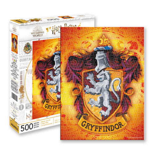Harry Potter Gryffindor 500 Piece Puzzle.