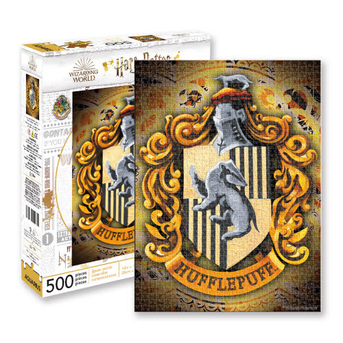Harry Potter Hufflepuff 500 Piece Puzzle.