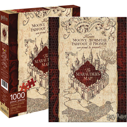 Harry Potter Marauders Map 1000 Piece Puzzle