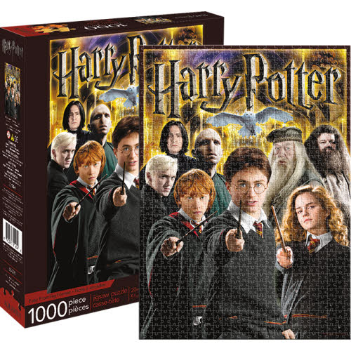 Harry Potter Collage 1000 Piece Puzzle