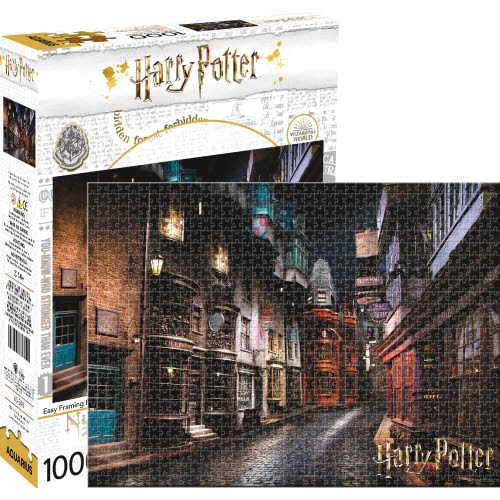 Harry Potter Diagon Alley 1000 Piece Puzzle.