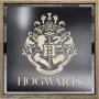 Hogwarts Crest Lighted Sign.