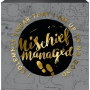 Harry Potter Mischief Managed Box Sign. I solemnly swear I am up to no good.