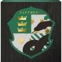 Harry Potter Slytherin Box Sign.