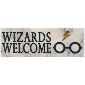 Harry Potter Wizards Welcome Desk Sign