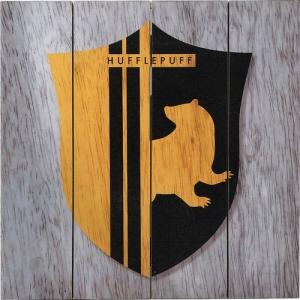 Harry Potter Hufflepuff Wood Sign