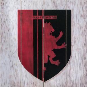 Harry Potter Gryffindor Wood Sign