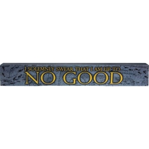 Harry Potter Solemnly Swear Long Wood Sign