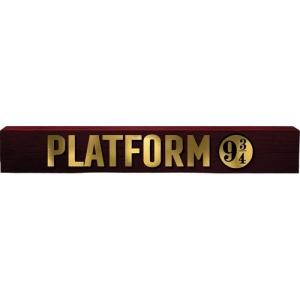 Harry Potter Platform 9-3/4 Long Wood Sign