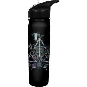 Harry Potter Deathly Hallows Flip Top Water Bottle