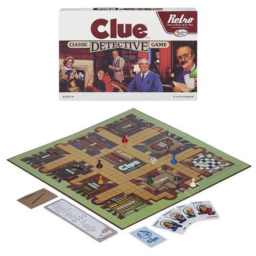 Clue Retro Series Classic Detective Game