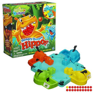 Elefun and Friends Hungry Hungry Hippos Game