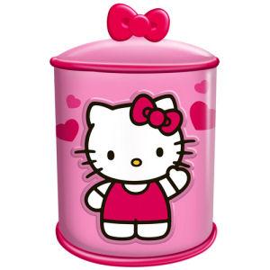 Hello Kitty Cupcake Ceramic Cookie Jar