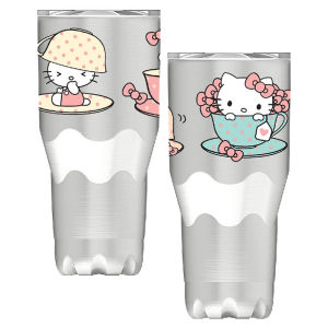 Hello Kitty 30 Ounce Stainless Steel Travel Mug