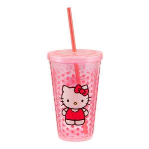 Hello Kitty 18 Ounce Acrylic Travel Cup