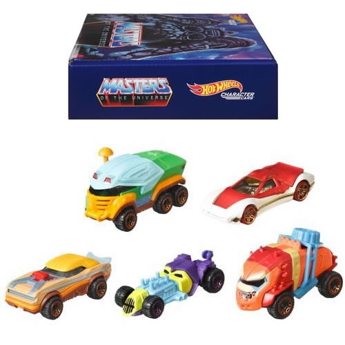Hot Wheels He Man and the Masters Of The Universe Character Cars 5-Pack.