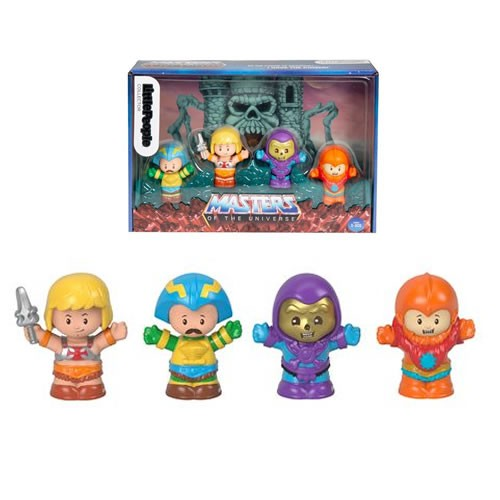 Little People Masters Of The Universe Collector Figures.