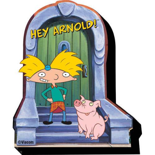 Hey Arnold Arnold Funky Chunky Magnet
