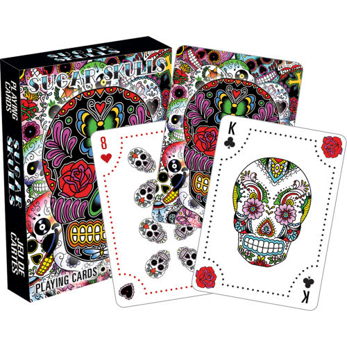 Sugar Skulls Playing Cards.