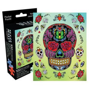 Sugar Skulls 100 Piece Pocket Puzzle