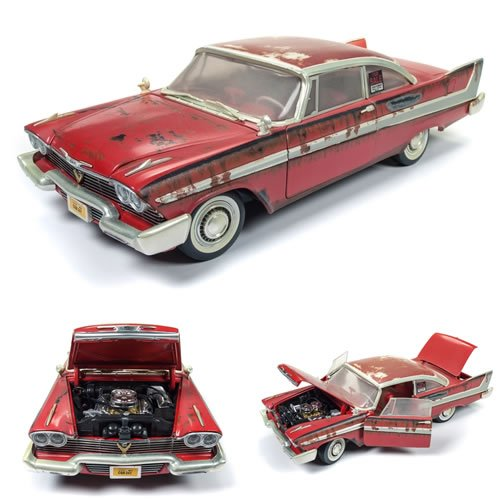 Christine (Dirty Version) (1958 Plymouth Fury) 1:18 Scale Diecast Vehicle.