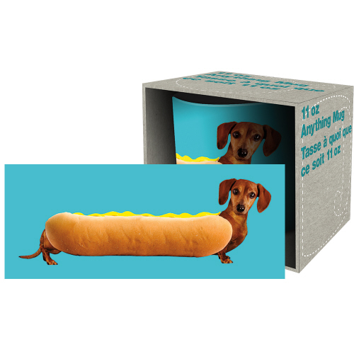 Wonderful Wieners 11 Ounce Boxed Mug.
