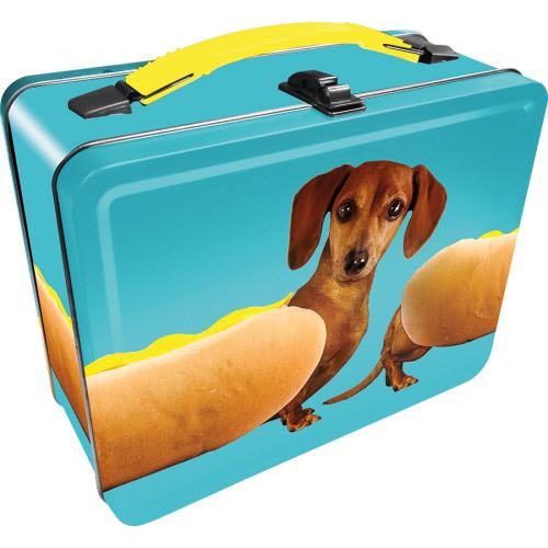 Wonderful Wieners Gen 2 Fun Box Lunch Box Tin Tote.