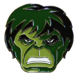 The Incredible Hulk Enamel Pin