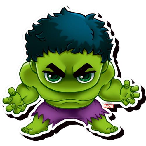 Avengers Hulk Chibi Funky Chunky Magnet.