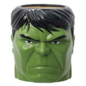 Hulk Head Ceramic Molded Mug