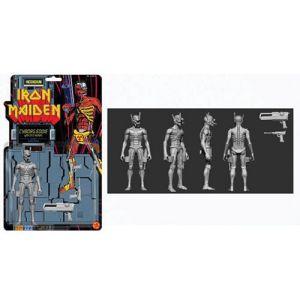 Iron Maiden Cyborg Eddie 5 Inch Fig Biz Action Figure