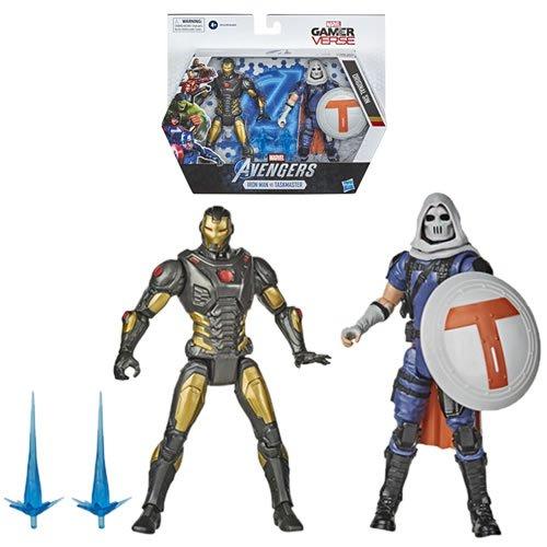 Marvel Gamerverse Iron Man And Task Master Action Figure 2-Pack