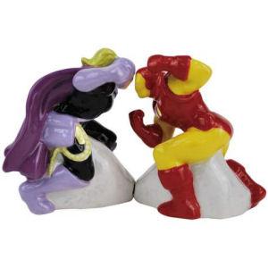 Iron Man vs. Whiplash Salt and Pepper Shaker Set