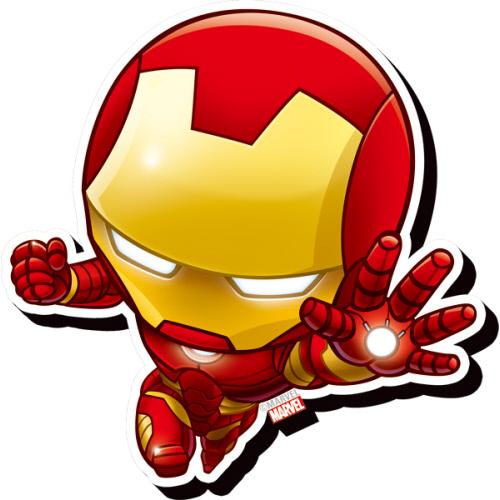 Avengers Iron Man Chibi Funky Chunky Magnet.