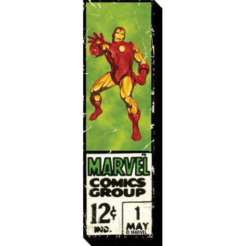 Iron Man 12 Cent Funky Chunky Magnet